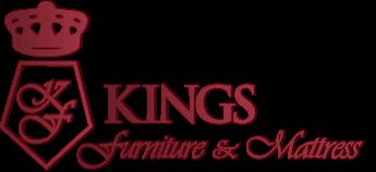 kings furniture u0026 mattress logo